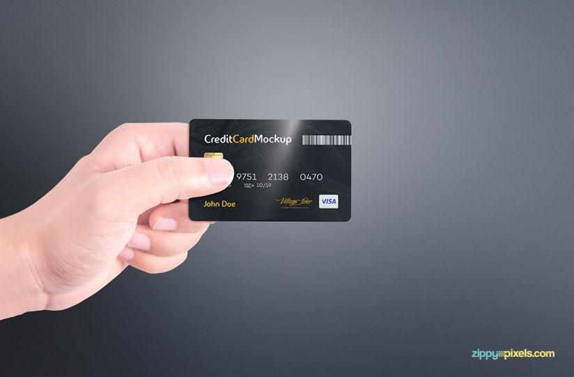 Free Credit Card Mockup Zippypixels Free Credit Card Credit Card Rewards Credit Cards