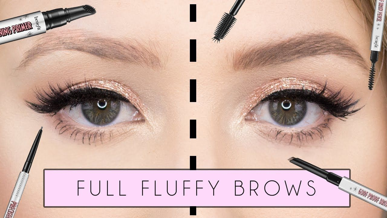 6cbad64ba7b How To: My Signature Fluffy Brow Tutorial | Beauty | Brow tutorial ...
