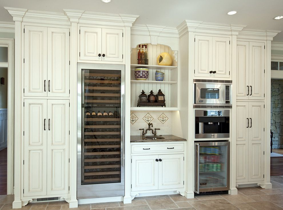 built in coffee center in kitchen google search