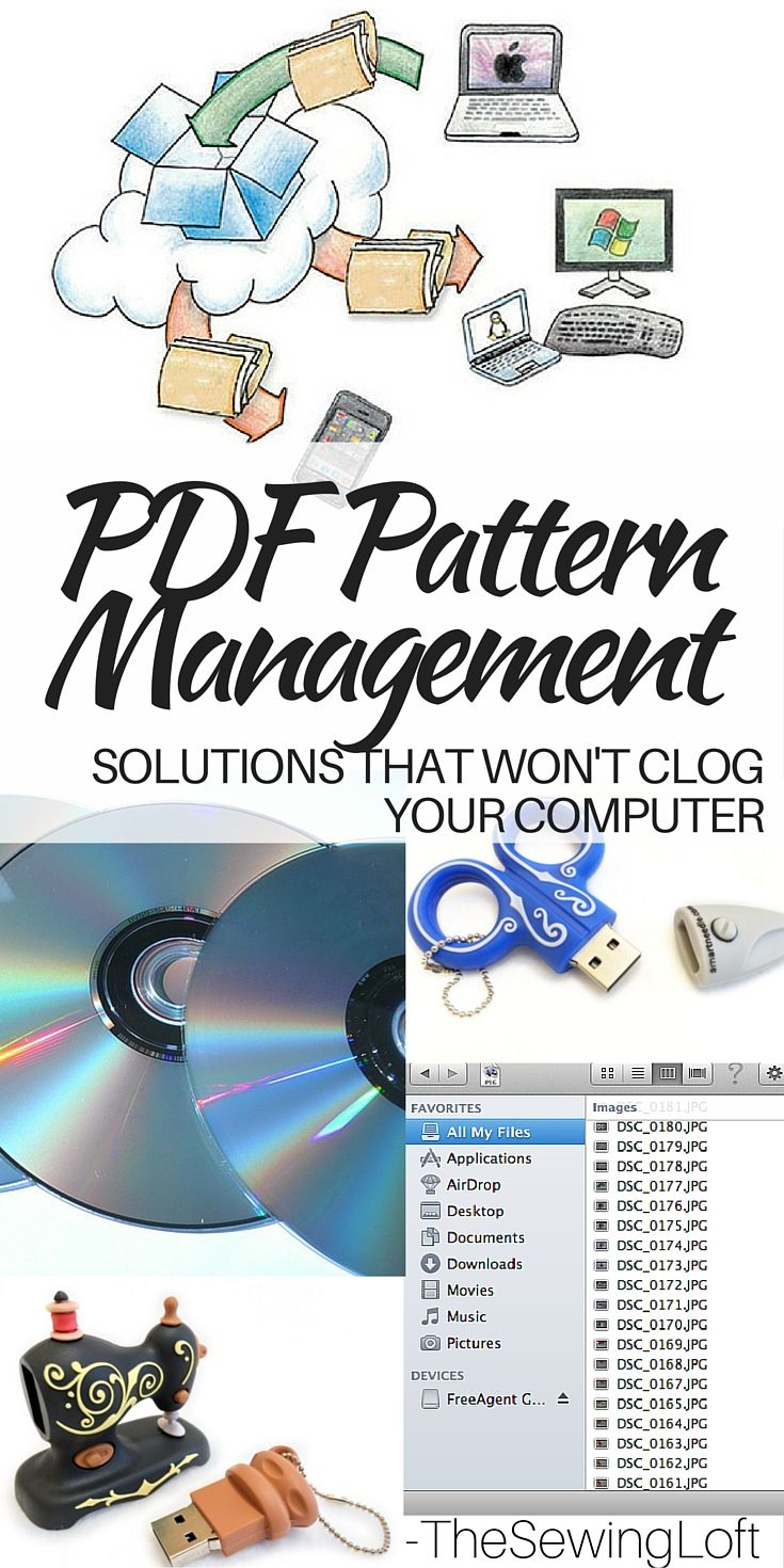 PDF Storage Solution Ideas For Patterns | Revistas y Patrones