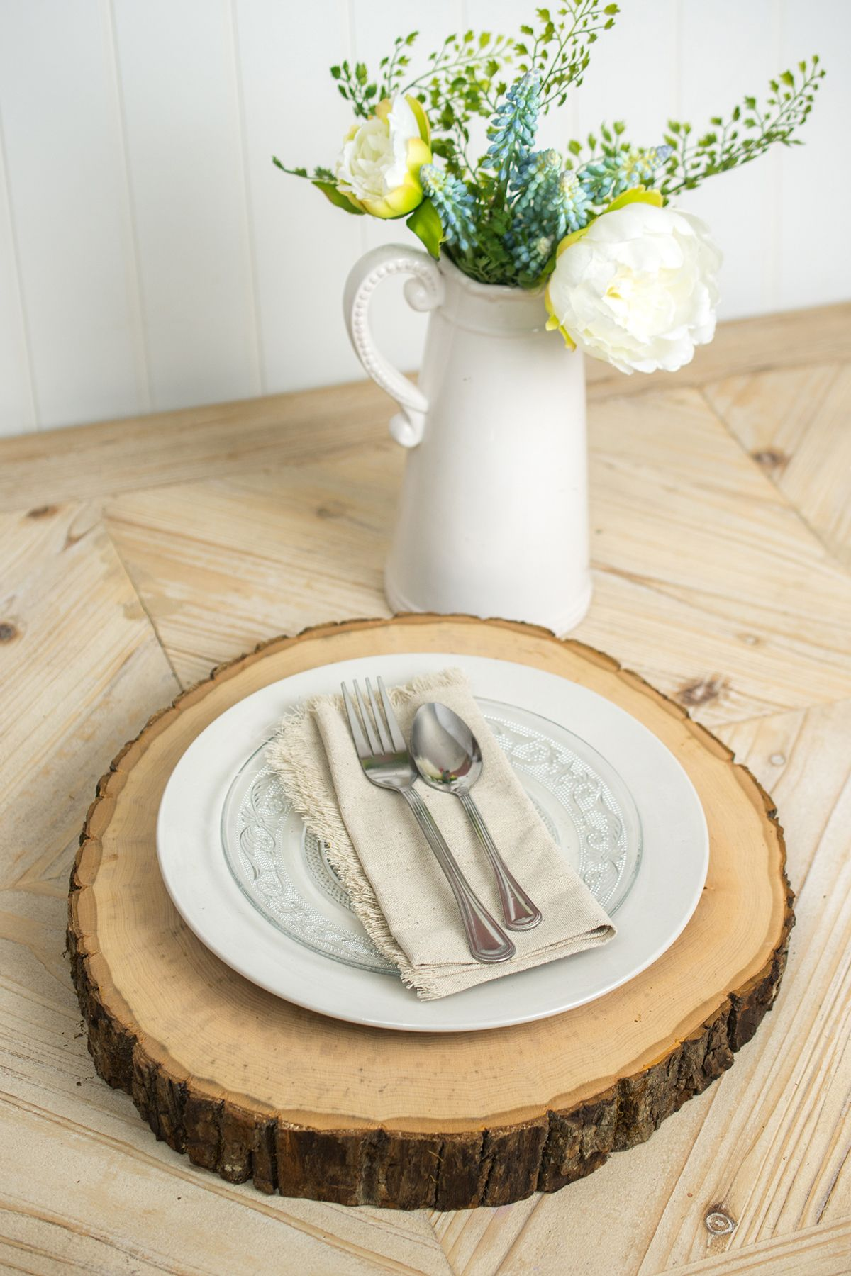 20pcs Natural Oval Wood Log Slices Chic Wedding Table Centerpiece Pyrography