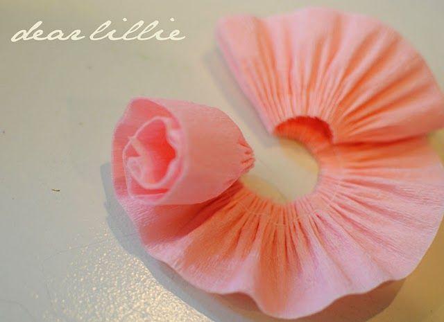 Easy To Make Crate Paper Flowers Diy Crepe Paper Paper Peonies