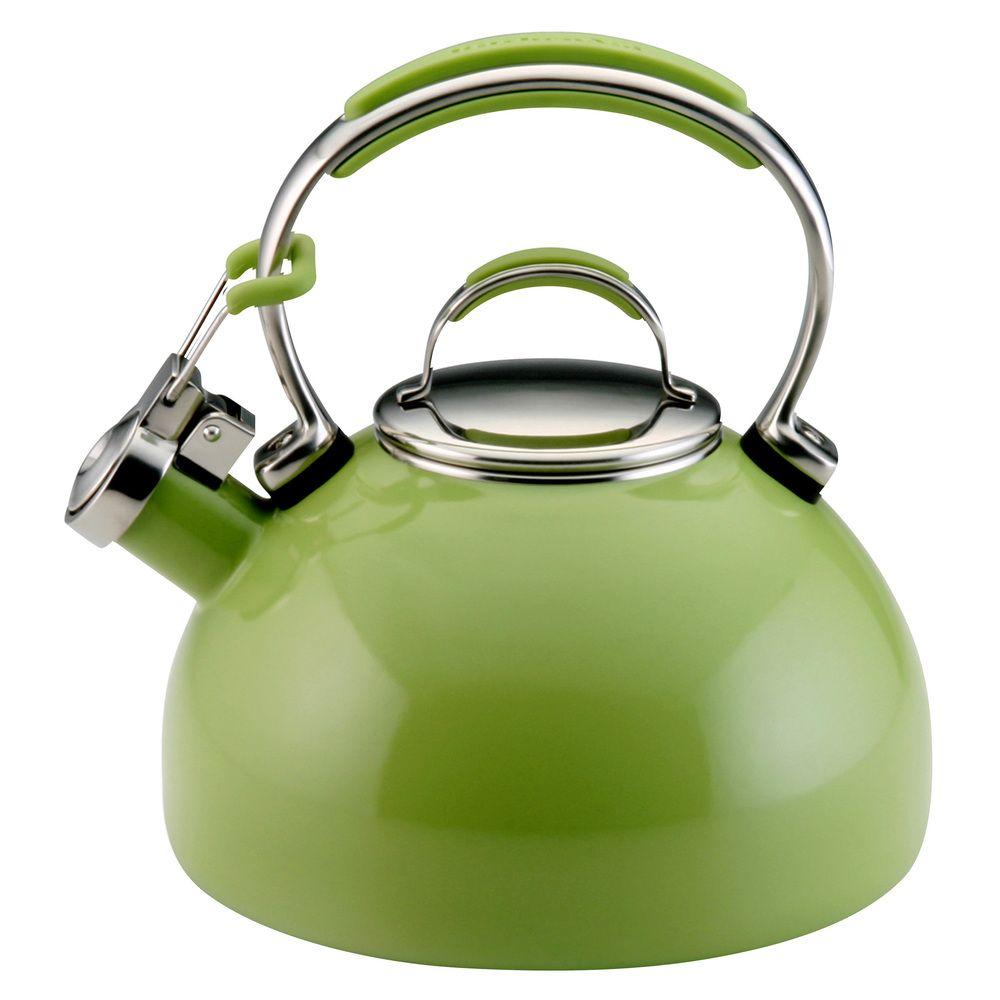 Kitchenaid Green Le 2 Quart Porcelain Teakettle For My New Range