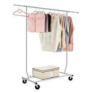 3 Langira Single Rod Rack Garment Racks Clothing Rack Clothes