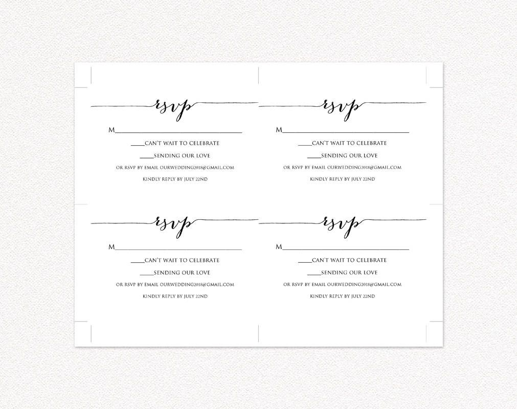Rsvp Card Printable Template Wedding Templates And Printables With Regard To Template For Rsv Wedding Rsvp Postcard Rsvp Wedding Cards Wedding Response Cards