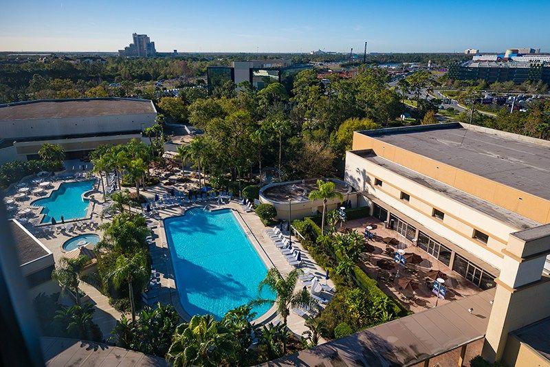 Hilton Orlando Lake Buena Vista Disney Springs Hotel Review