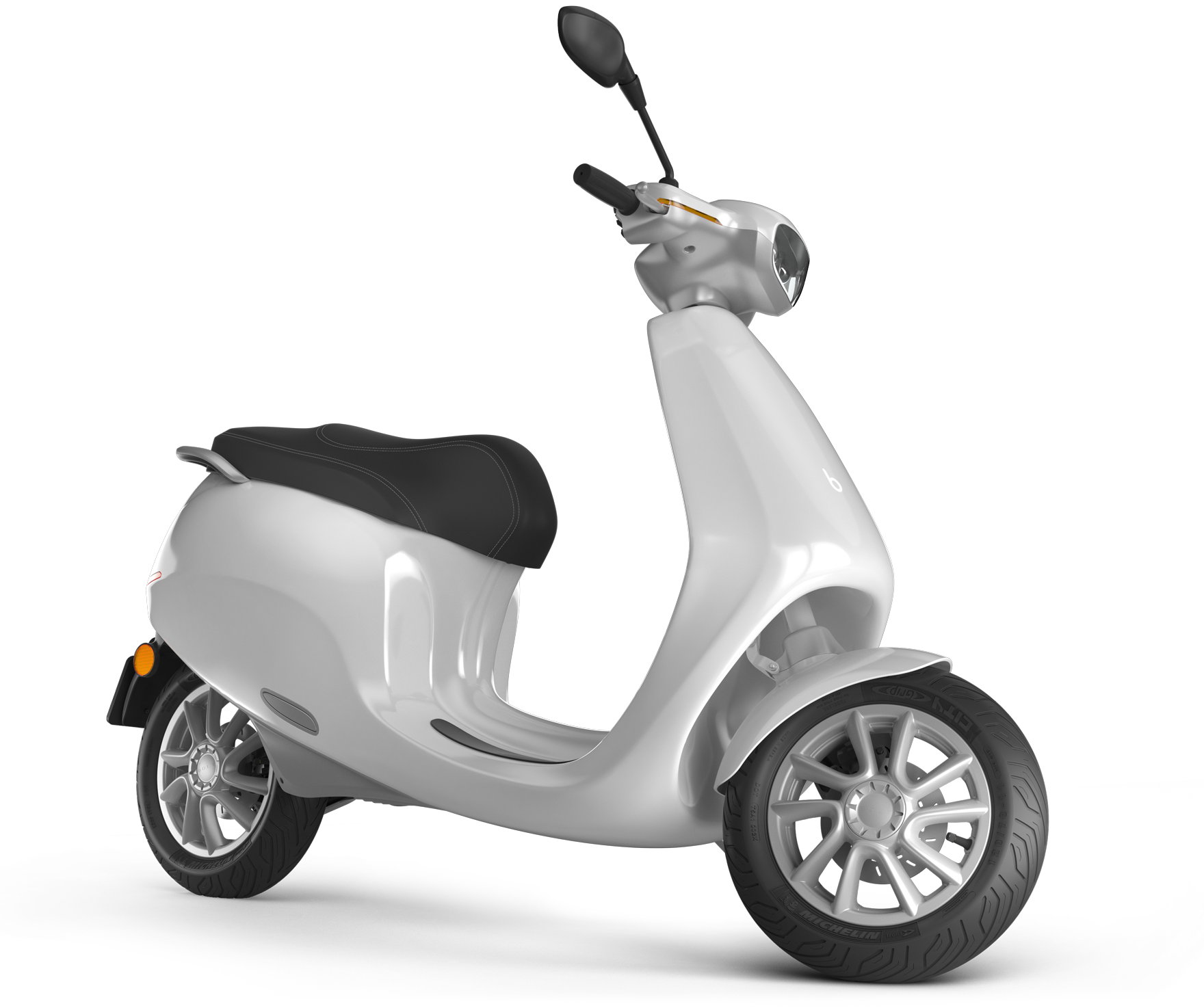Appscooter Goes Up To 400 Km Far Accelerates From 0 To 45 Km H In 3 3 Seconds Has 65 Liter Storage And Safely Scooter Design Electric Scooter Electric Moped