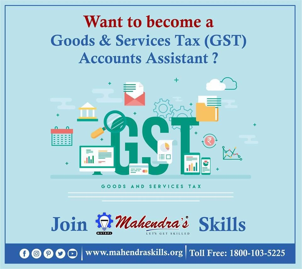 Goods Services Tax Gst Accounts Assistant Sector Banking