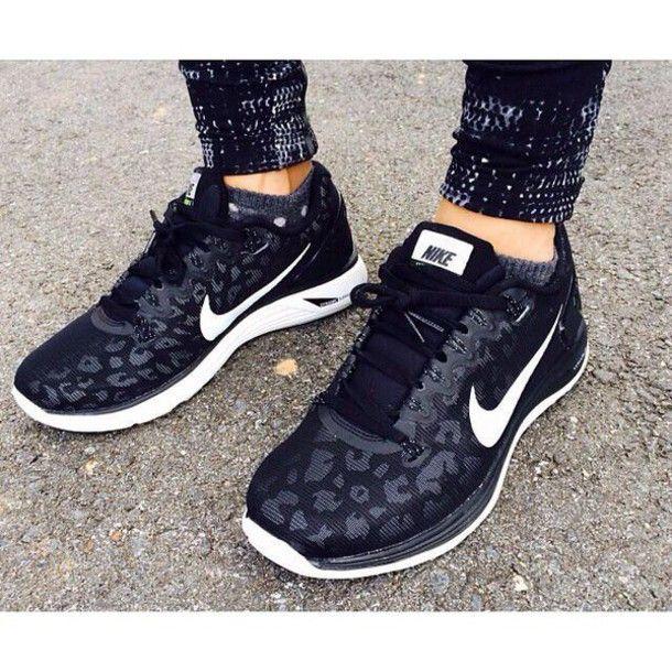 Nike leopard shoes, Nike sneakers