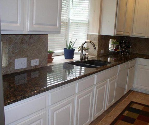 Kitchen Cabinet Granite: Brown Granite Countertops, Brown Granite