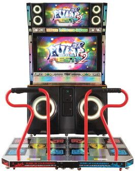 Pump It Up Dance Arcade Machine! Party Big Island Style, Eat, Drink