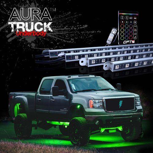 Aura Pro Truck Led Aluminum Underglow Lighting Kit
