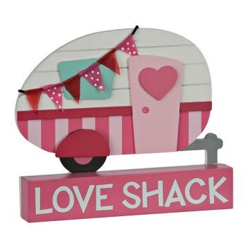Love Shack Camper Word Block Kirklands Valentine Decorations Camping Art Valentines