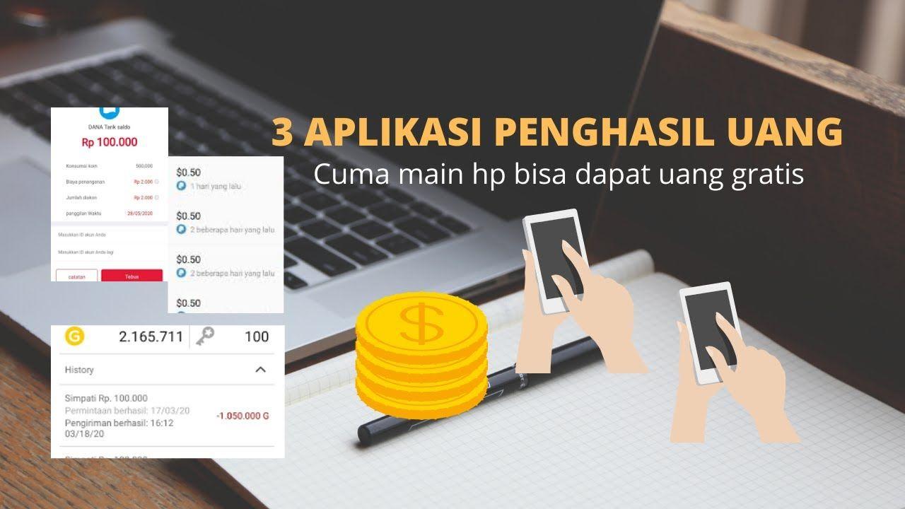 Cuma Modal Hp Dapat Uang Gratis Aplikasi Penghasil Uang 2020 Checkkk Aplikasi Uang Gratis