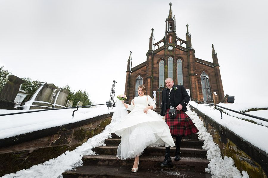 St Marys Greyfriars Church Wedding In Dumfries