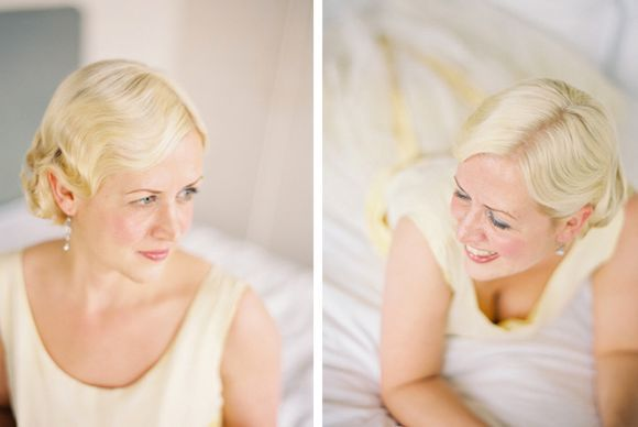 Example hair style: Annabel author of Love My Dress one of the UK's leading wedding blogs