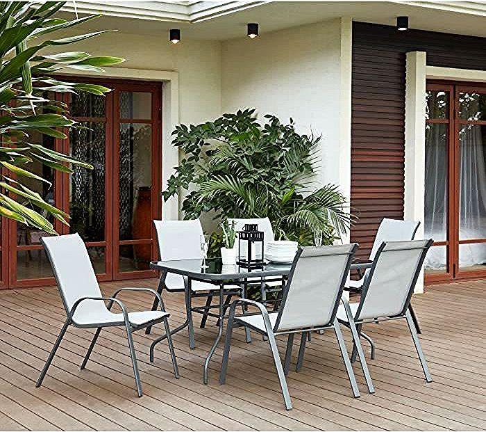 Table Et Chaise De Cuisine In 2020 Outdoor Furniture Sets Furniture Sets Decor