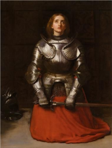 Joan of Arc // John Everett Millais