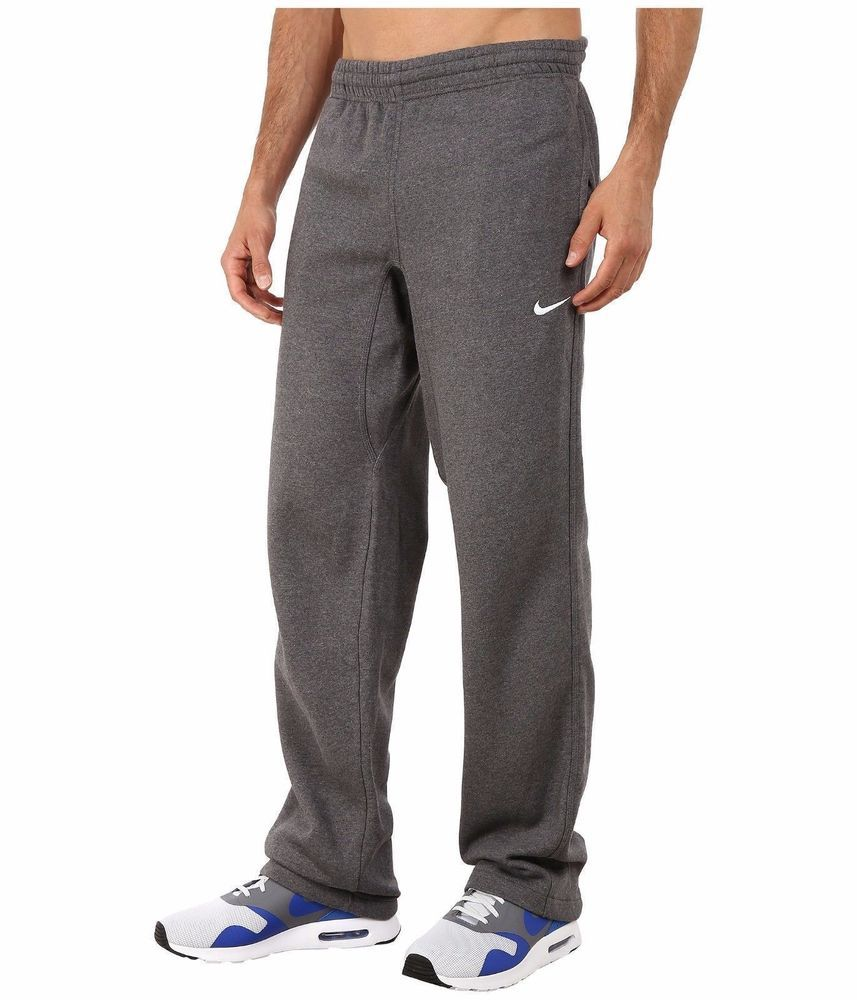 24fb47fe82366a Nike Club Swoosh Fleece Sweatpants Dark Grey - Men s Size 2XL 826424-071  NEW  Nike  Pants