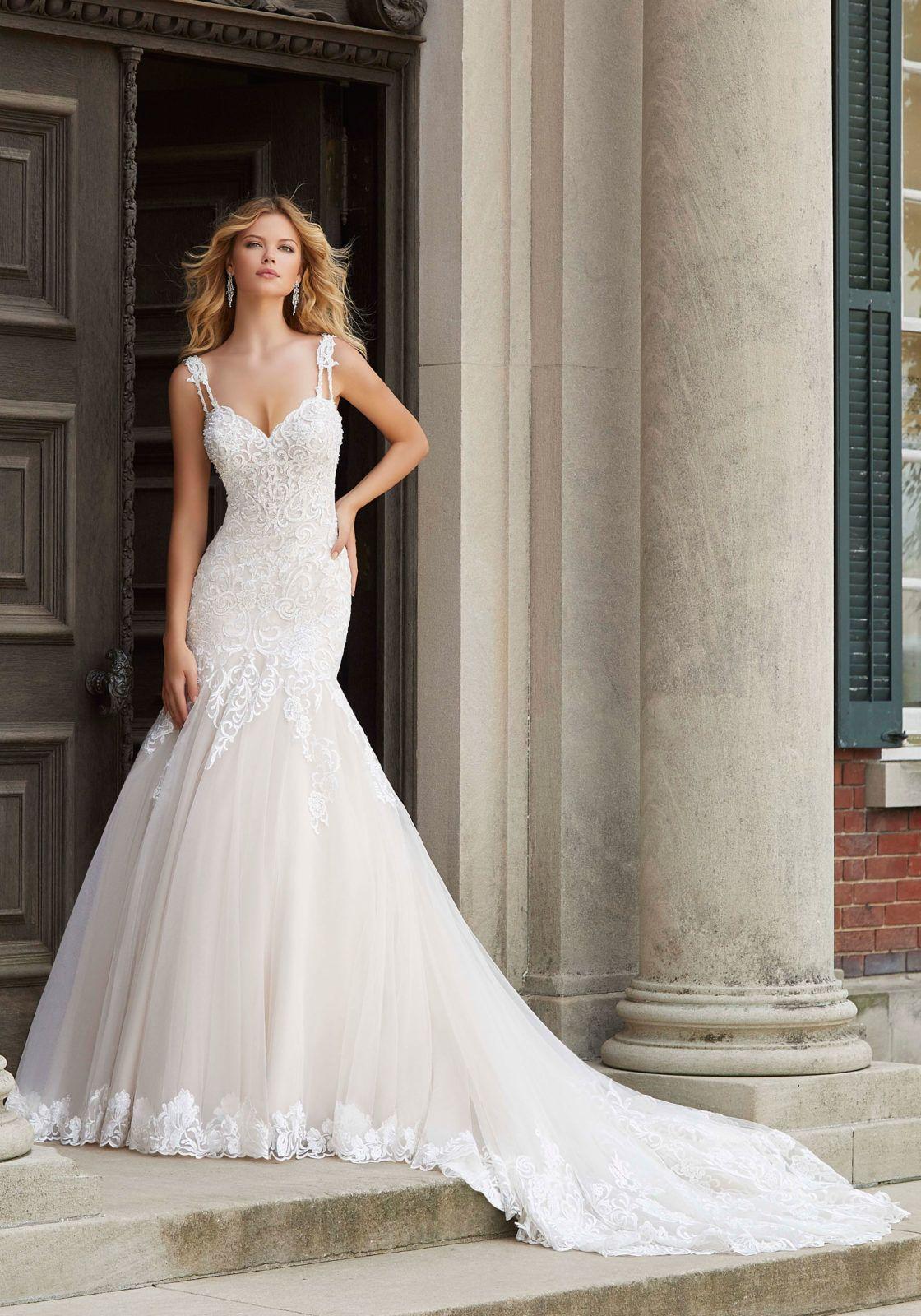 e8edc3fc508e Prospera Wedding Dress in 2019 | Mori Lee | Wedding dresses, Lace ...