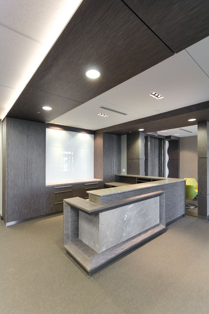 Modern Office Furniture Reception Desk Interesting Design Decoration