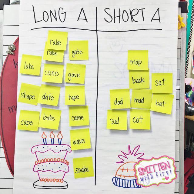 Smitten with First: Bossy E and Long A! | Kindergarten Kolleagues ...