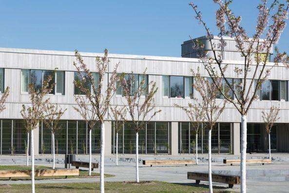 Holzlaube florian nagler architekten freie universit t for Berlin architektur studieren