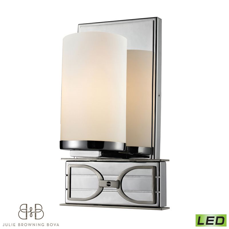 Julie Browning Bova For Elk Lighting Exclusive Campolina One Light Bath Bar Other Styles Available Equestrian Style Home