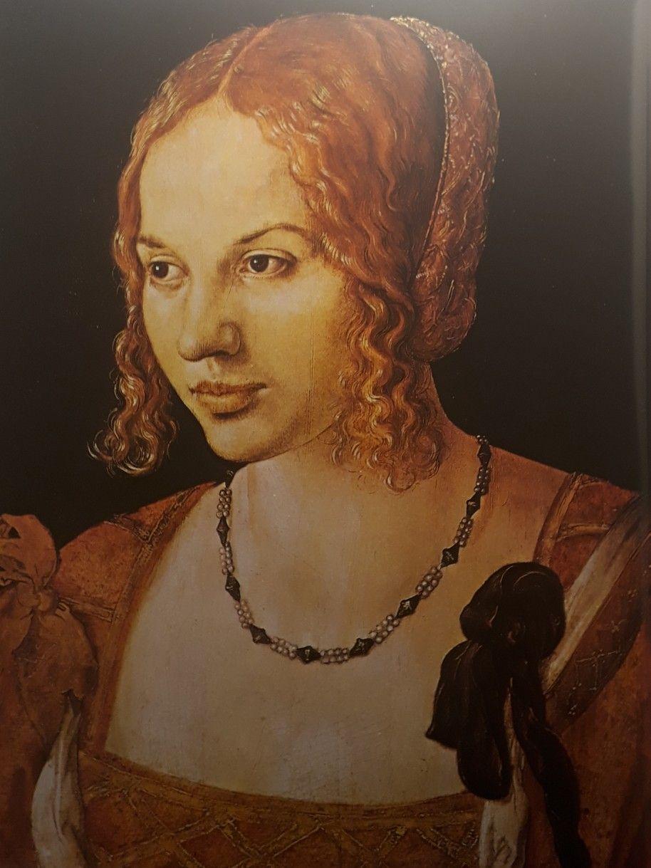 Portret Mlodej Wenecjanki Albrecht Durer Xviw Muzeum Hiostrii Sztuki Wieden Art Artwork Mona Lisa
