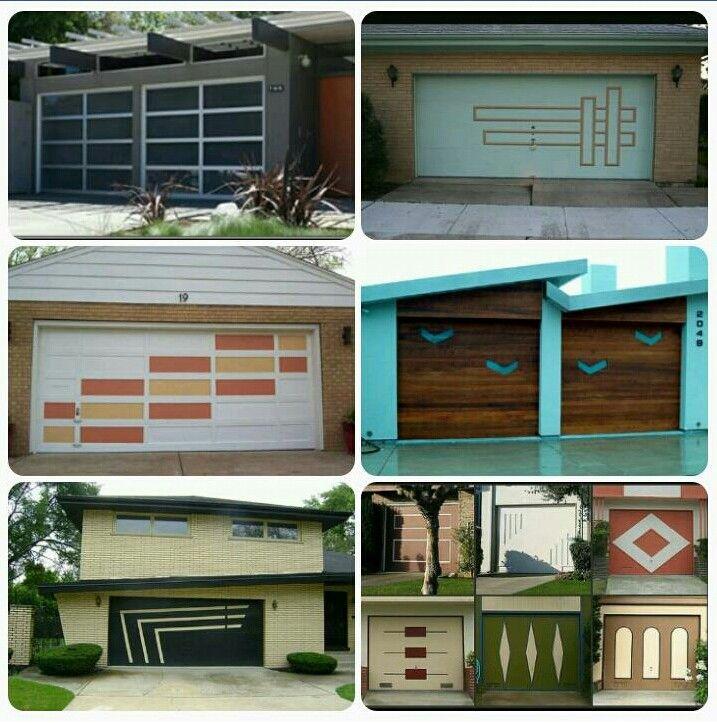 Mcm Garage Doors Garage Door Paint Modern Garage Doors Garage
