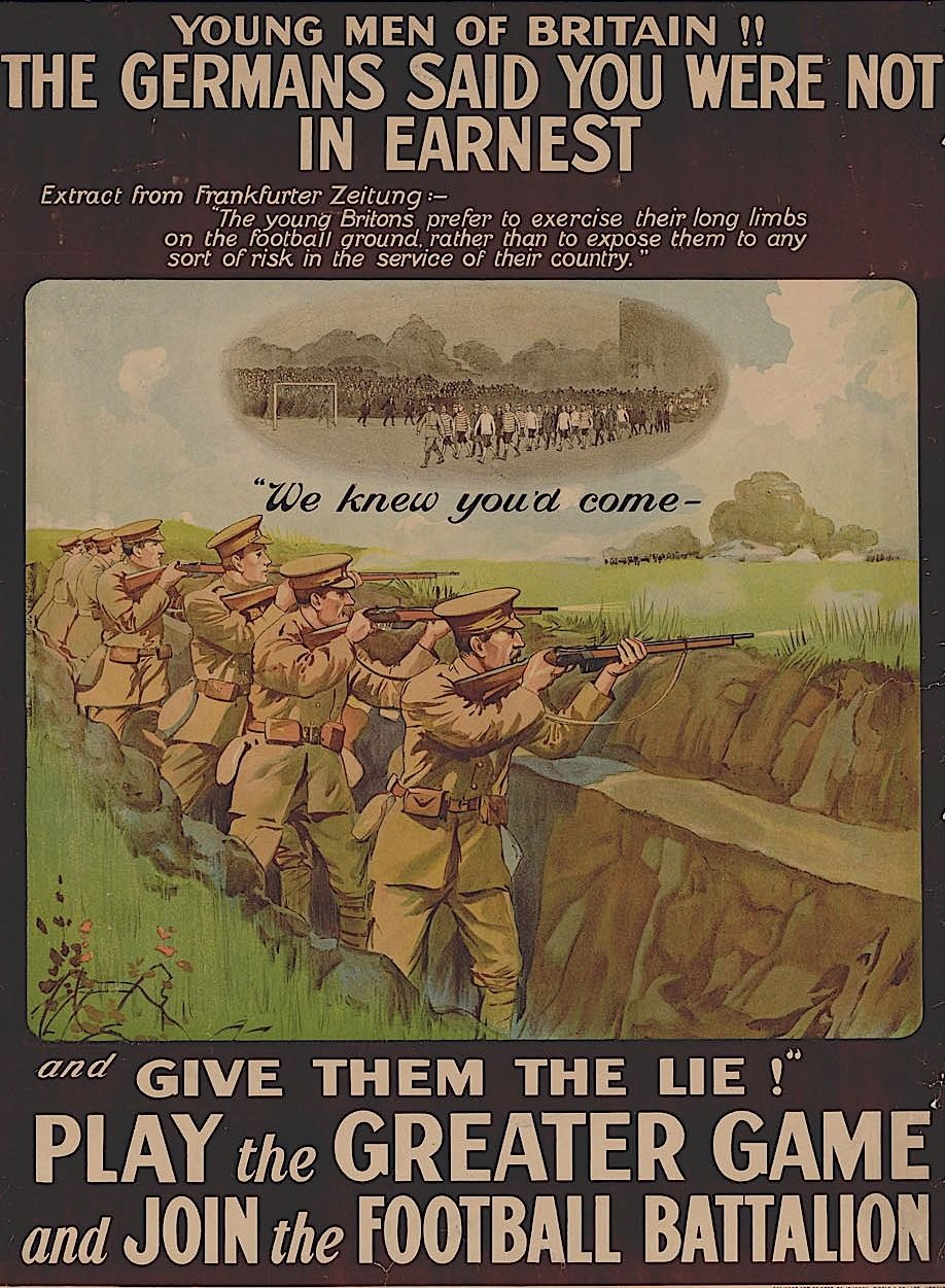 First World War Recruiting Poster.