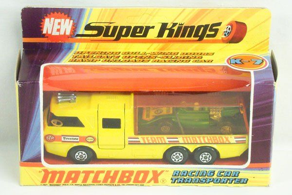 Matchbox Super Kings SK-7 Racing Car Transport.
