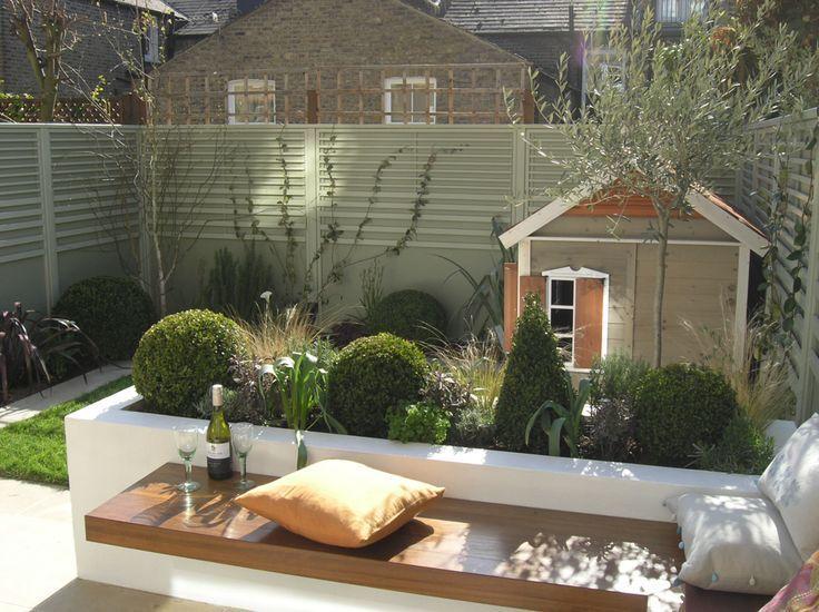 Photo of Gartengestaltung Kinderfamilie Kleine Gärten mit Tischen und Sitzideen …