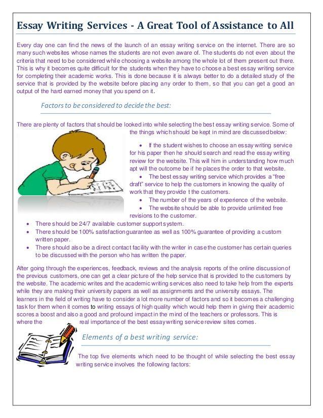 Essay writing service bbc
