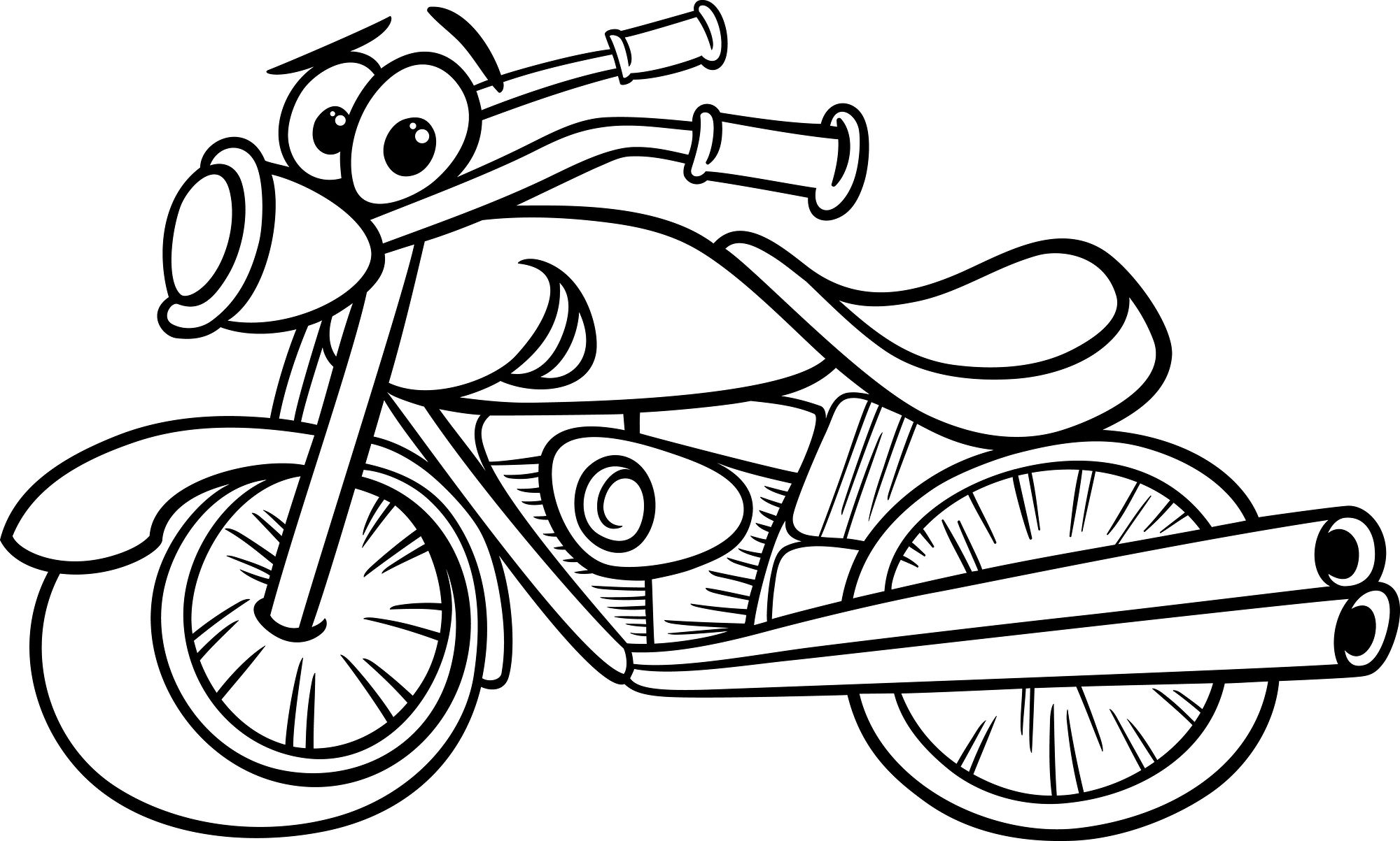 Pin On Motorcycles Coloring Pages