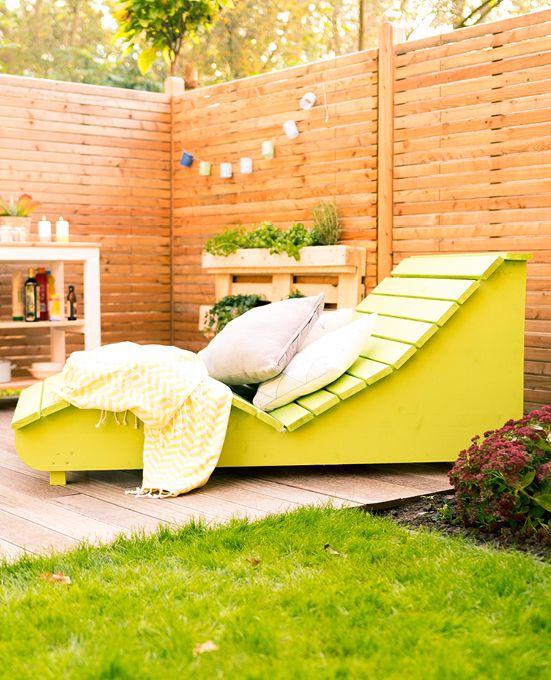 Gartenliege holz selber bauen  Wellenliege Lena selber bauen - Gartenmöbel | Gartenmöbel jetzt ...