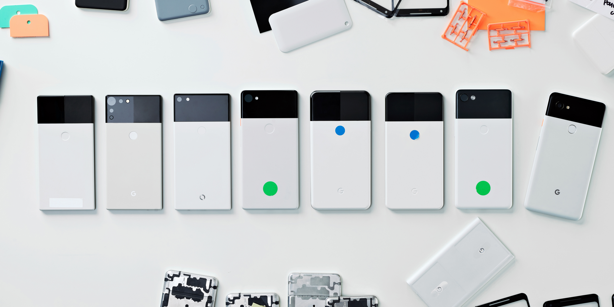 Google S Hardware Design Lead Shares Images Of Early Pixel 2 And