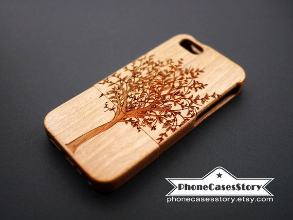 Buy 1 Get 1 for Free iphone 4s wood tree case  by PhoneCasesStory, $24.99