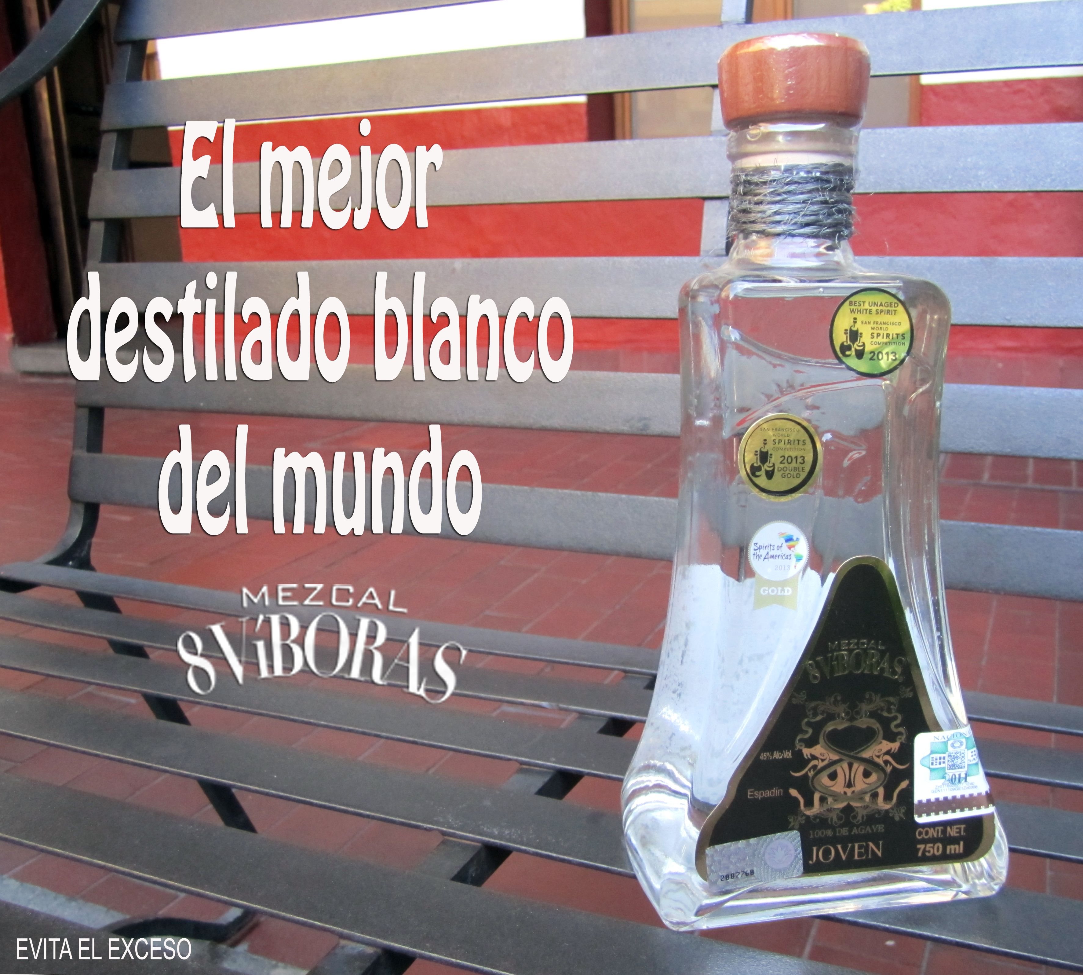"Ganador en la competencia ""San Francisco World Spirits 2013""."