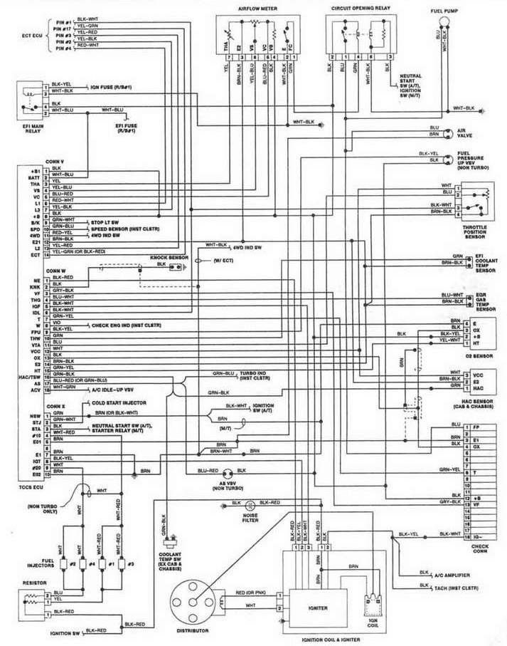 [DIAGRAM] Diagram 1991 Toyota Camry Engine 20