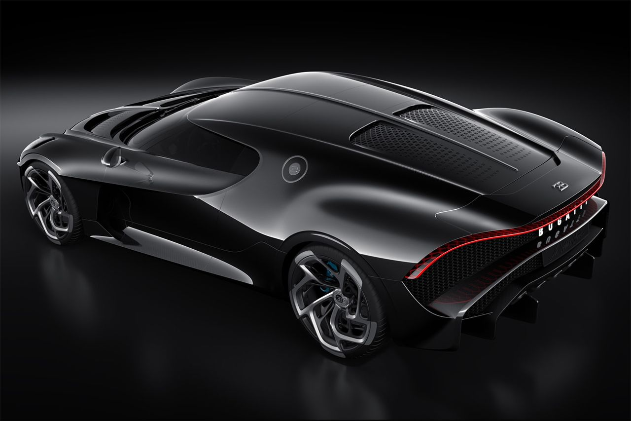 Bugatti Debuts The Most Expensive New Car Of All Time Black Car Bugatti Most Expensive Car