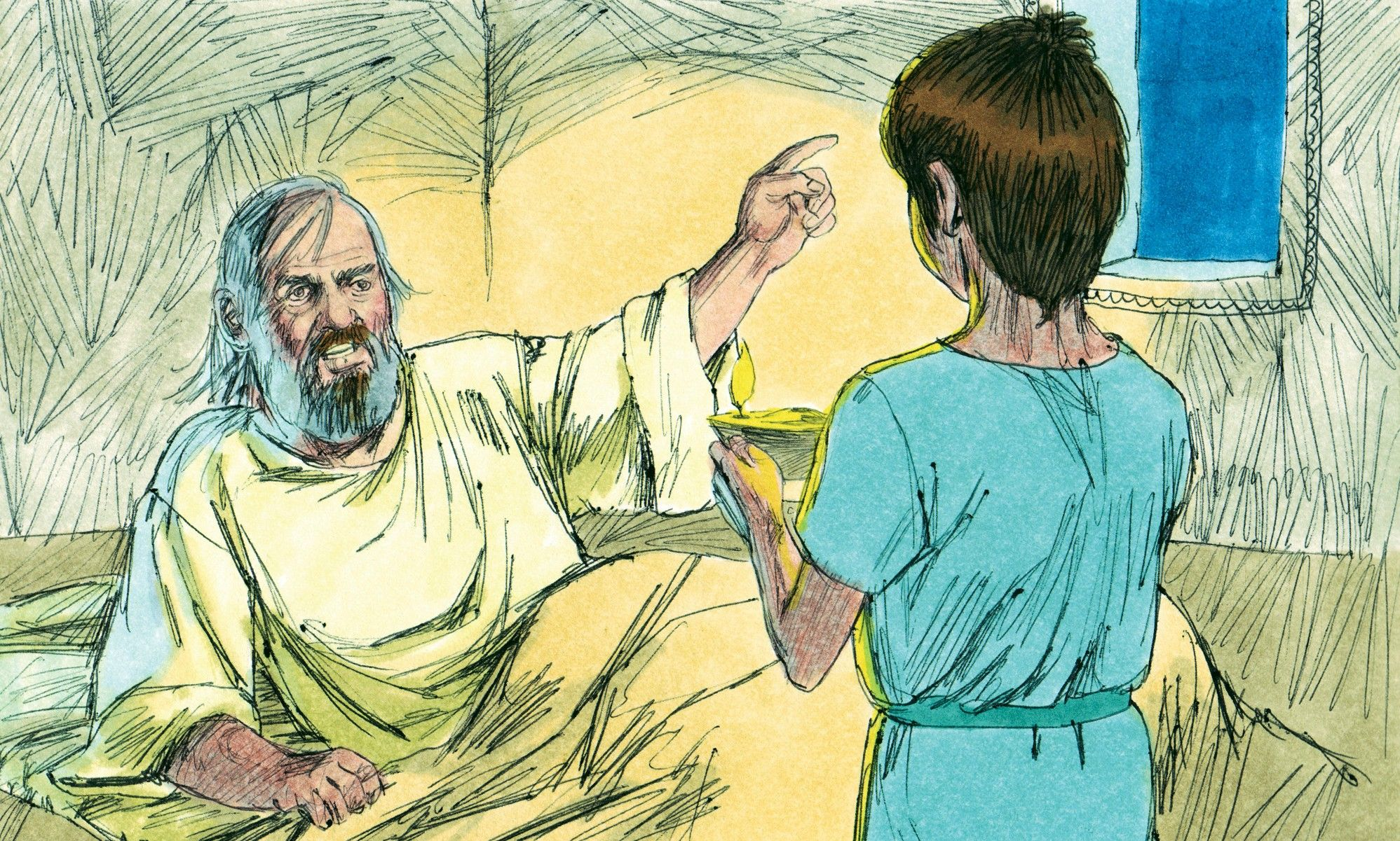 Lesson Skit - God Speaks to Samuel. This could be converted to a ...