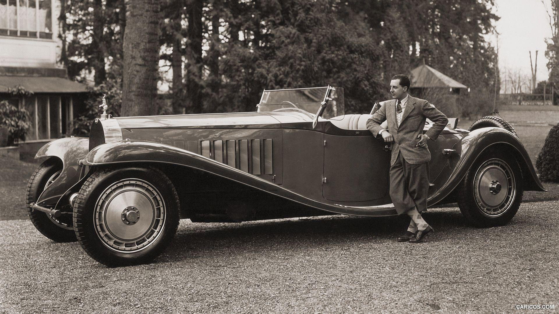 1932 Bugatti Type 41 Royale Wallpaper Mașini