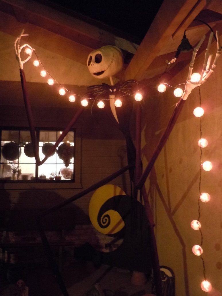 Jack Skellington Decorations Halloween 17 Bsta Bilder Om Nightmare Before Christmas Decor P Pinterest