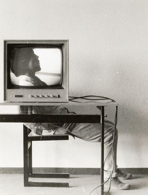 neo-catharsis:  Ernst Caramelle, Video–Landscape, 1974