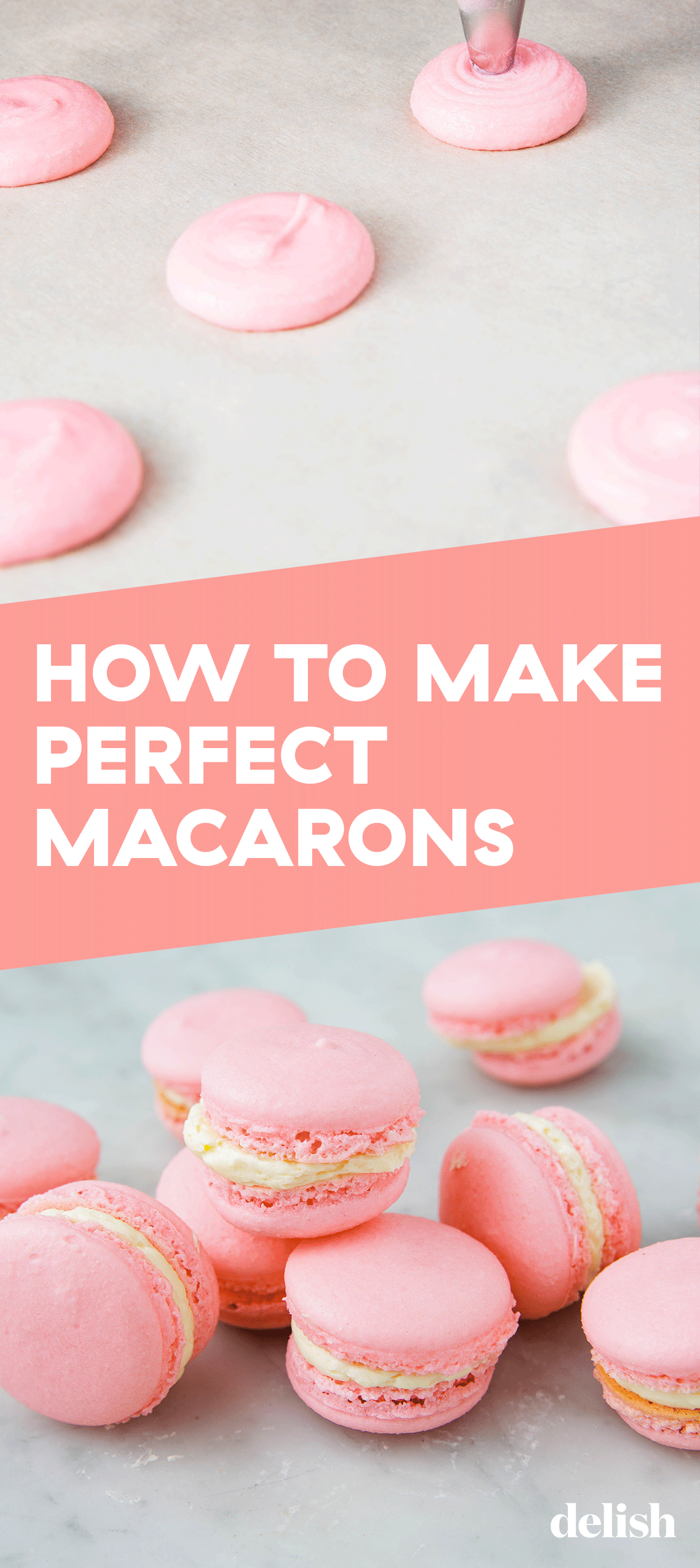 How To Make Macarons Making macarons isn't as hard as it looks, promise! Get the recipe at .