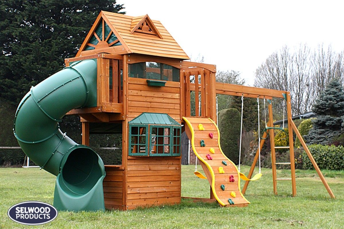 Fullsize Of Big Backyard Playhouse