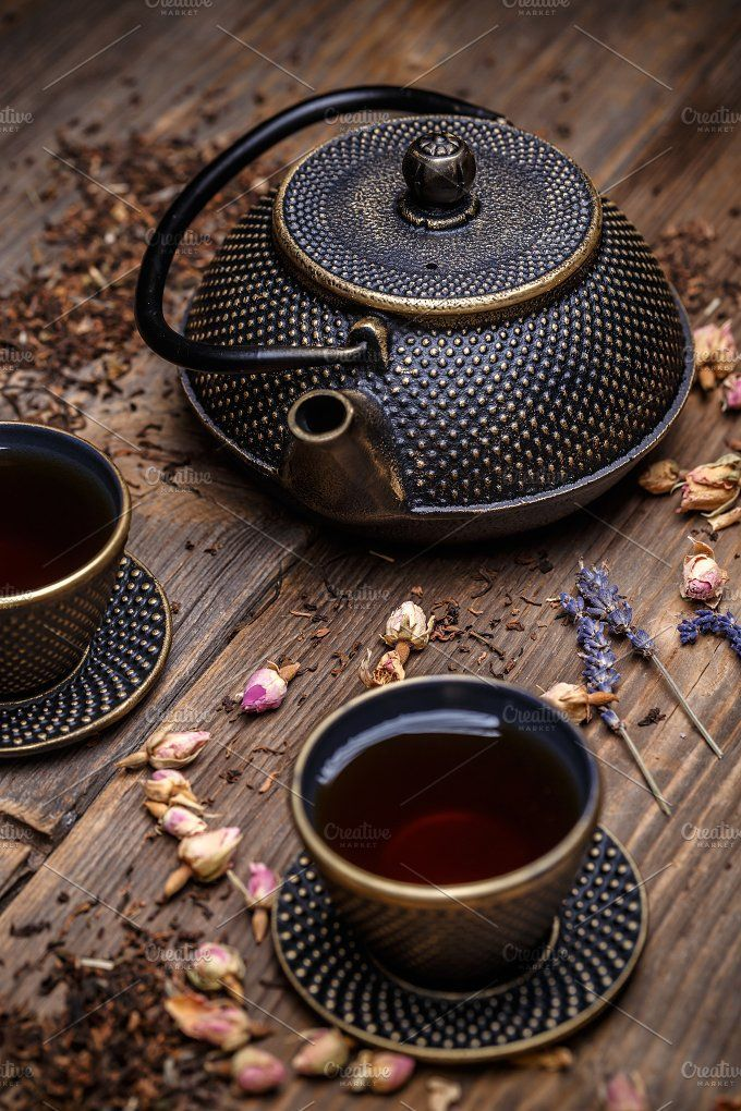 Fragrant tea inspiration for Karen Gilbert fragrance tea