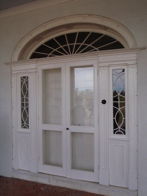 Ordinaire Federal Style Door At Evergreen Plantation By Anthonyturducken, Via Flickr  (as Seen In Django Unchained)