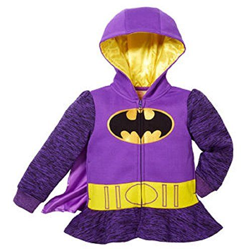 Princess Little Girls' Zip-Up Fleece Hoodie With Mesh Mask (4T ...